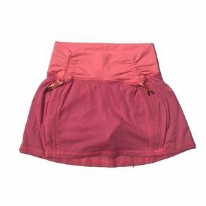 Lululemon Drawstring Skort Skirt Pink